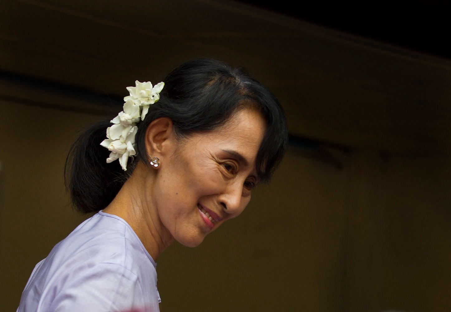 Leadership Secrets Of Myanmars Aung San Suu Kyi  Perry Thomas  Leading Change Is Hard Leading An Entire Nation Through Change  From  Military Rule Toward Democracy  Is Perhaps The Most Challenging Job Any  Leader Could  The Benefits Of Learning English Essay also Essays On Business Ethics Advanced English Essays