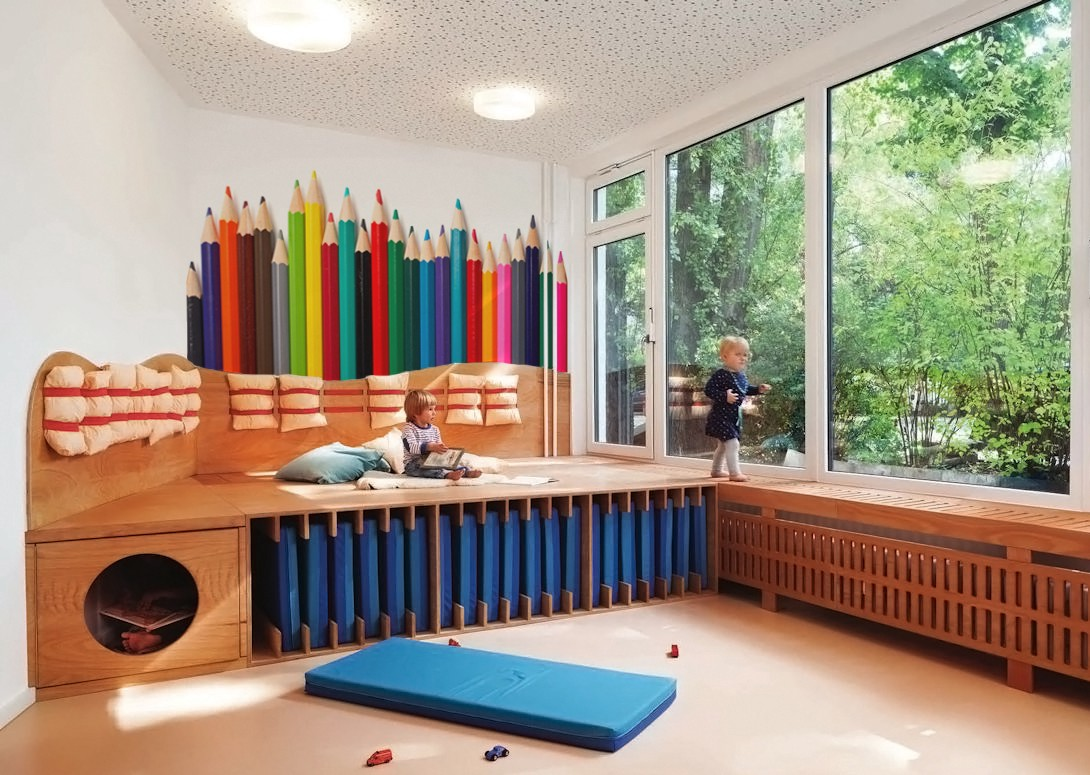 How To Decorate A Cozy Space For Children In Public Places