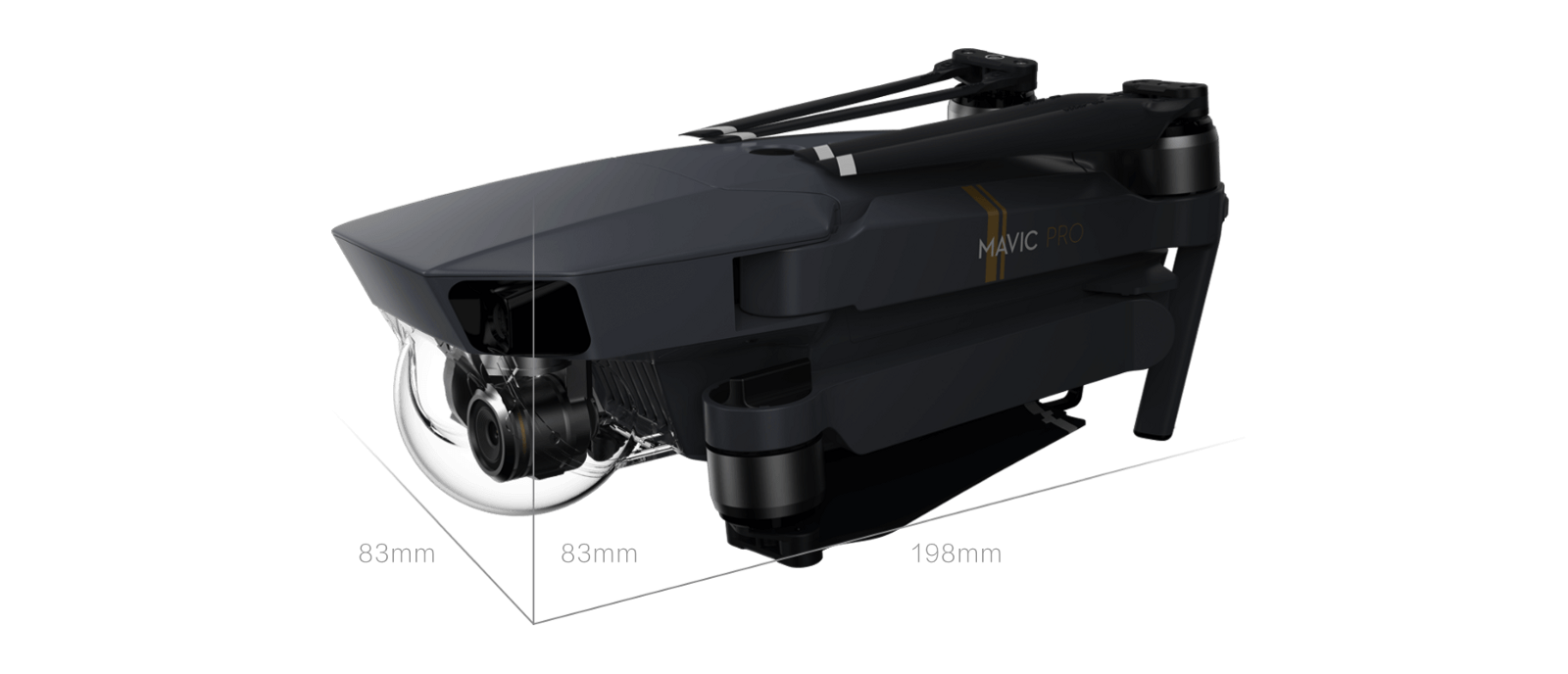 Dji Mavic Pro Has Very Small Size