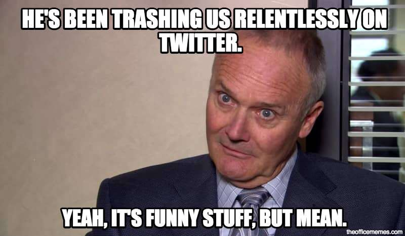 Creed Quotes Enchanting 5 Creed Bratton Quotes That Will Weird You Out But Also Make You