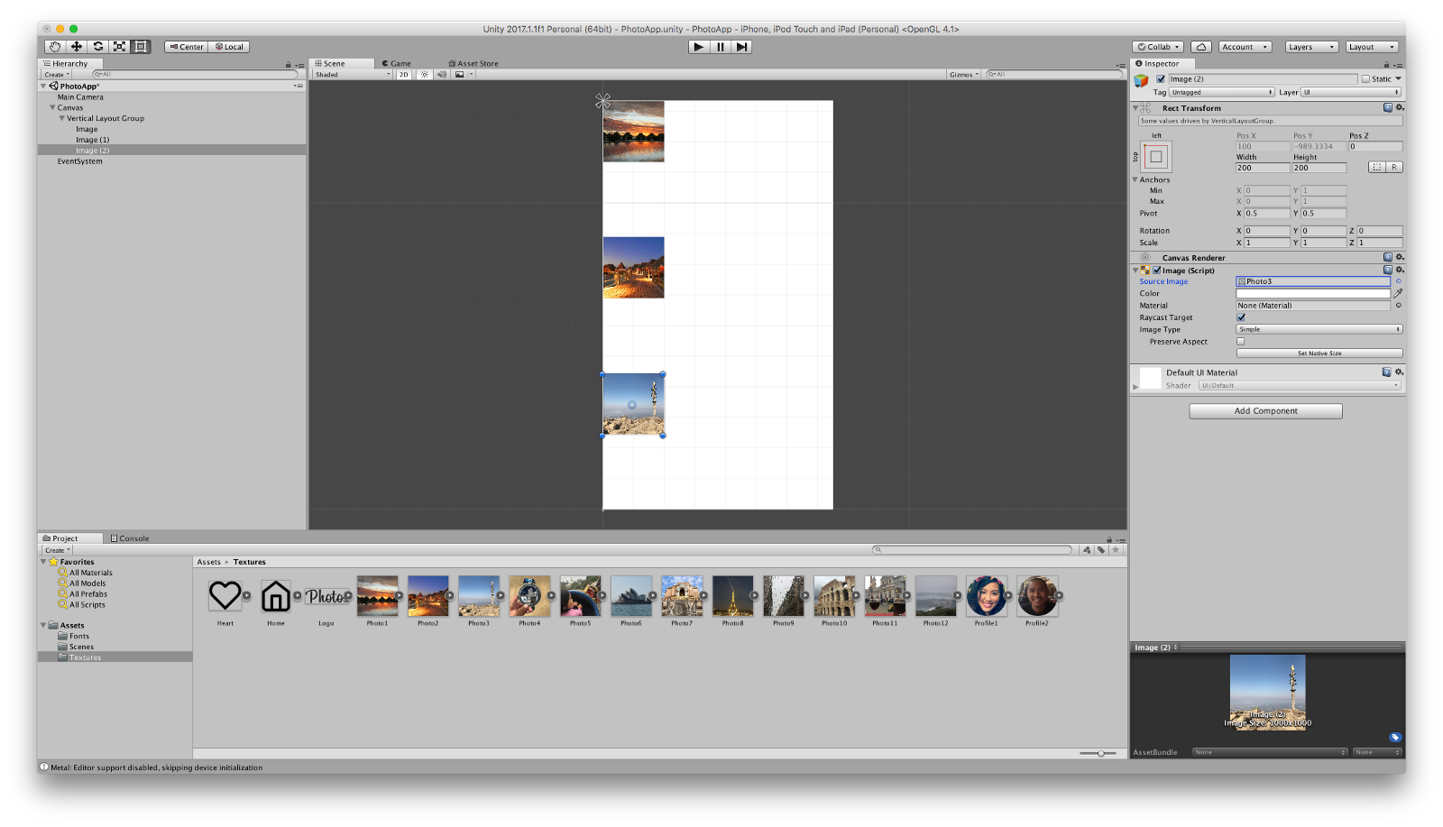 prototyping ui in unity part 4 layout components design sketch