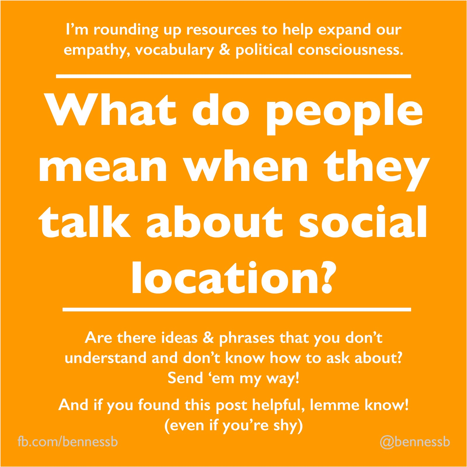 The Term Executive Privilege Originated With Answers Com: Social Location: What People Mean