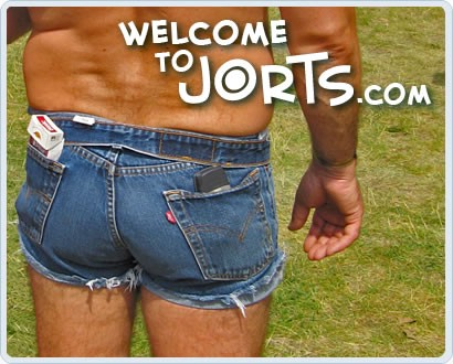 Men in daisy duke shorts