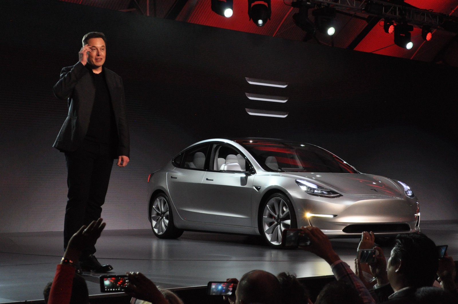 Tesla S New Car Smell