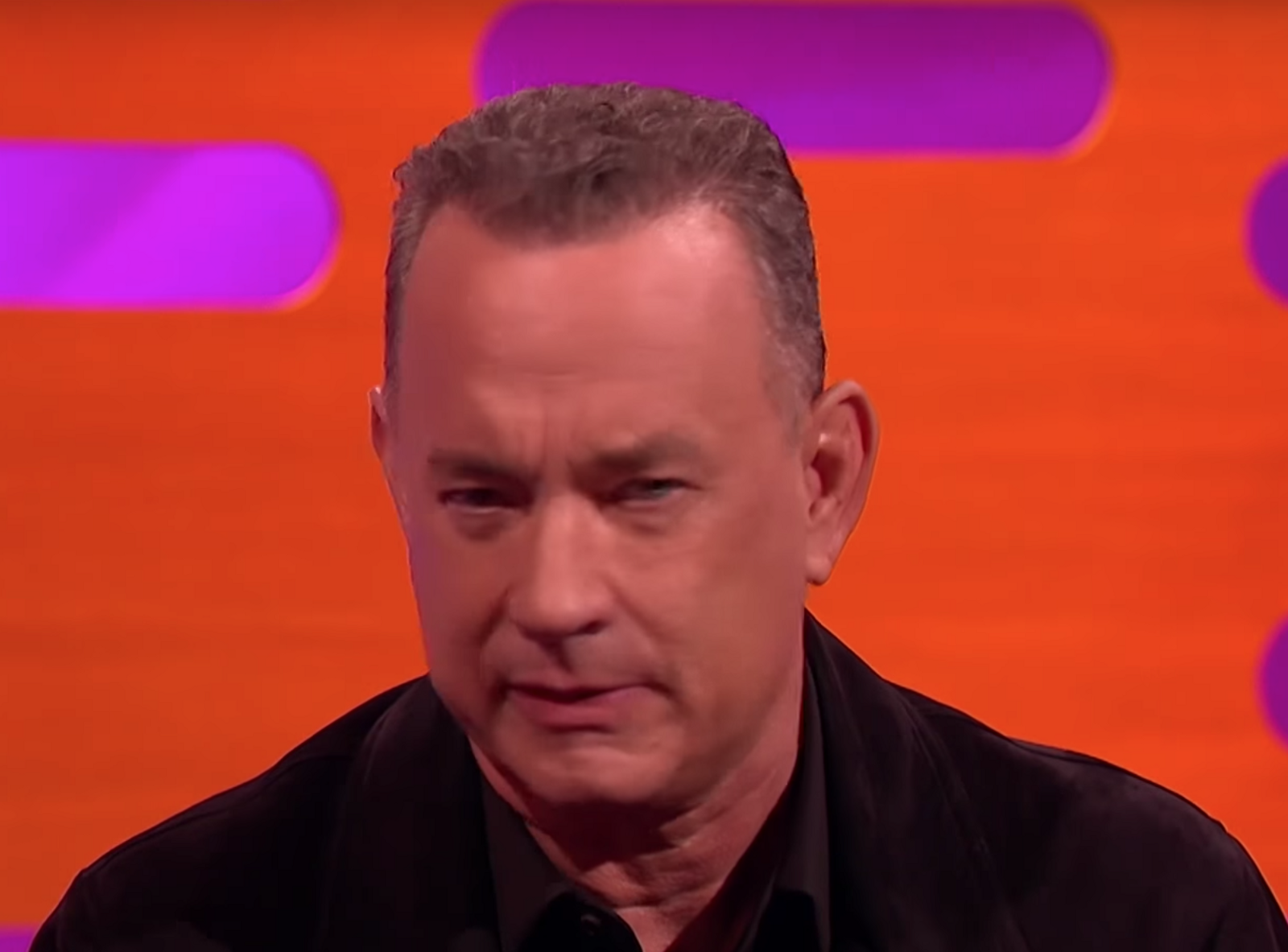 Body Language Analysis 4185 Tom Hanks Embarrassment And