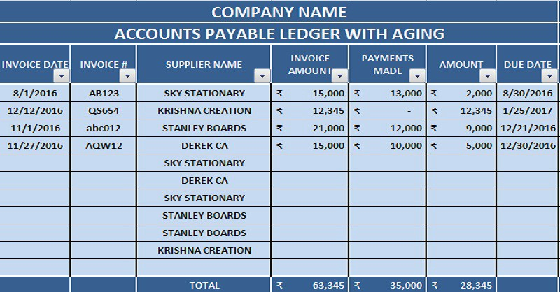 accounting template in excel - Ataum berglauf-verband com