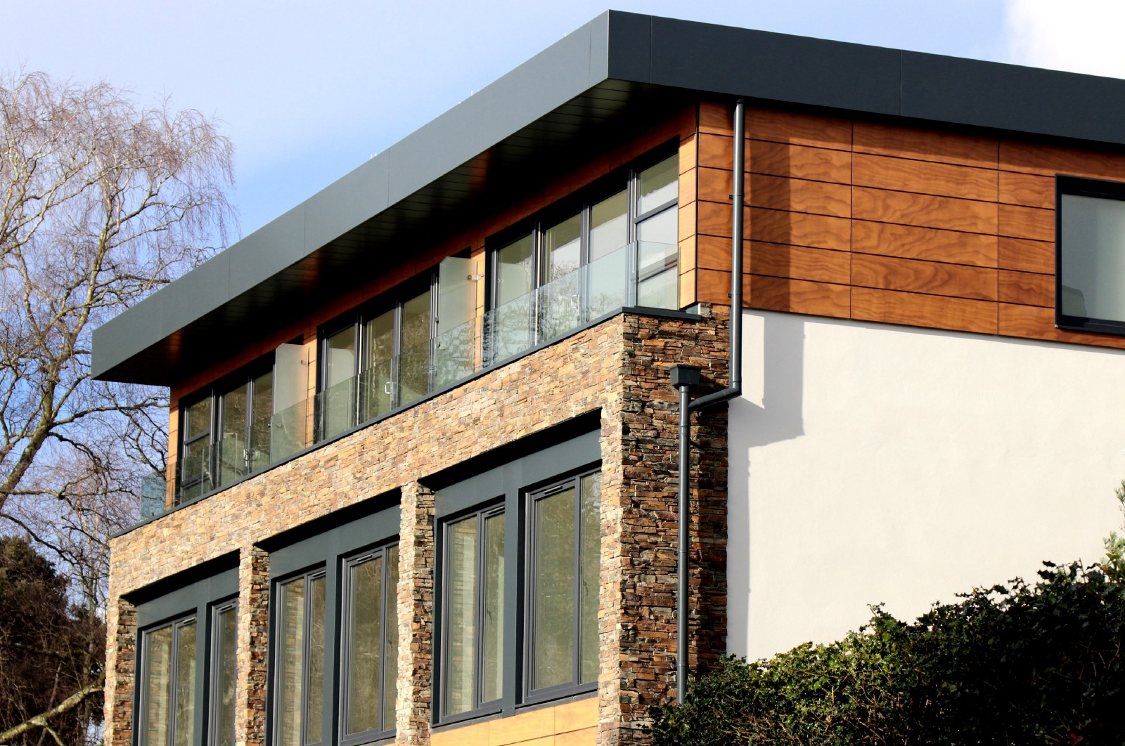What are the best types of exterior wall materials used - Exterior materials for buildings ...