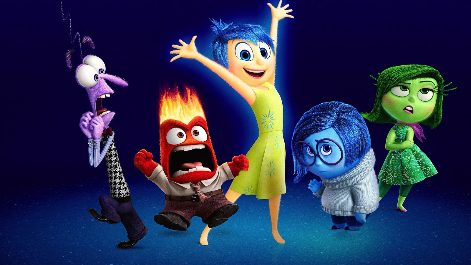 The Personified Emotions In Inside Out