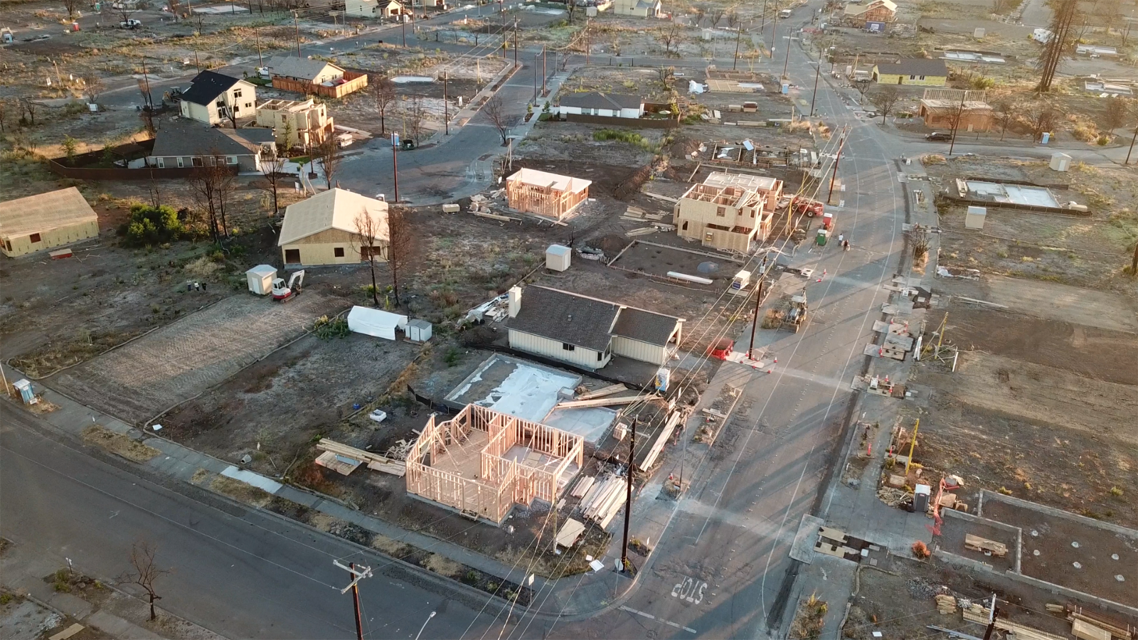 Using Mapping Technology To Reveal Destruction Recovery 1 Year