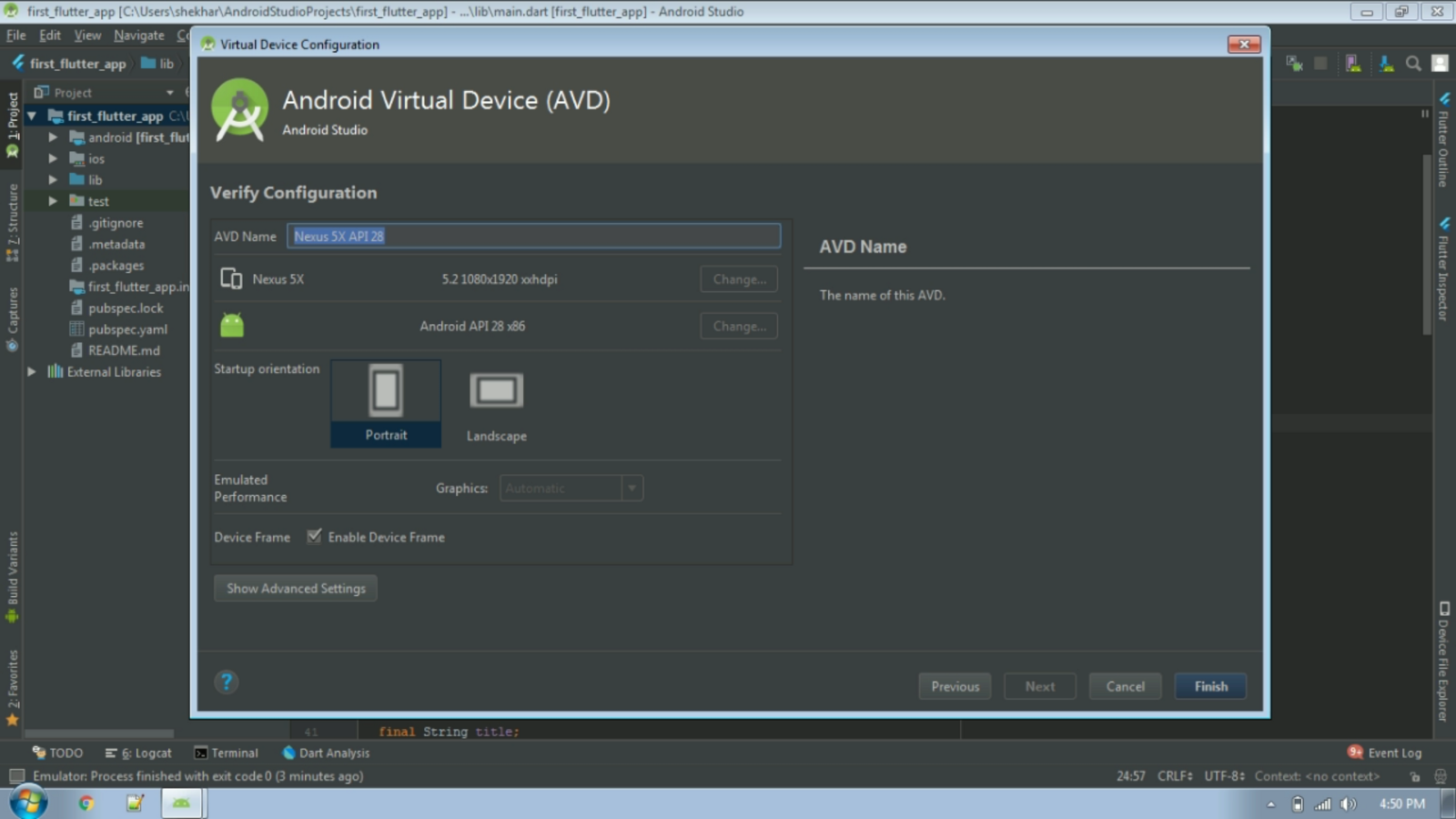 Create and Configure Android Virtual Device (AVD) in Android