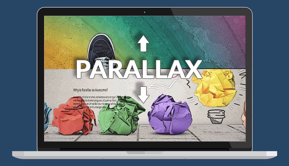 Using Parallax with Multiple Backgrounds