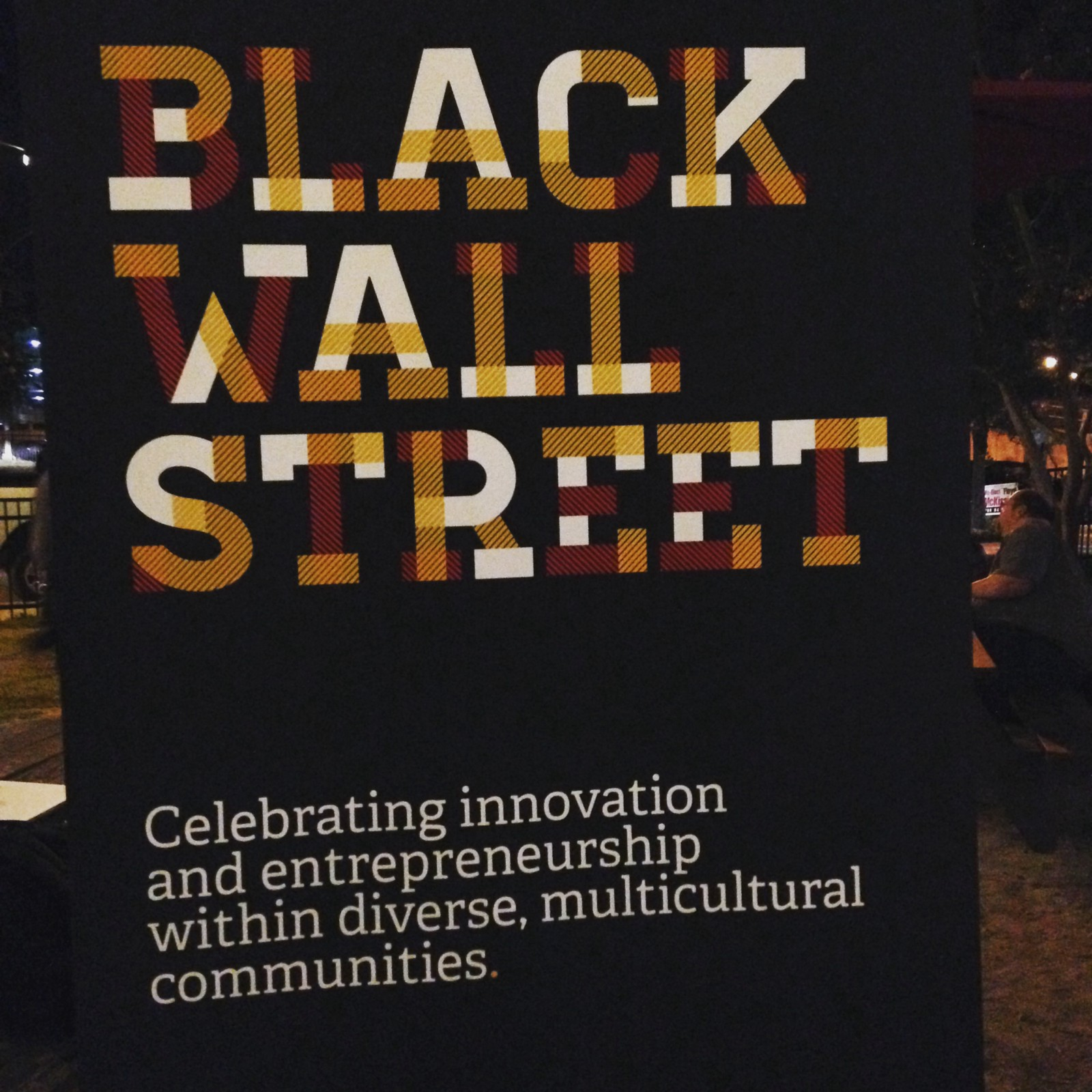 two weekends ago i had the privilege of volunteering for black wall street homecoming in durham nc set up by the amazing dee mcdougal of square 1 bank