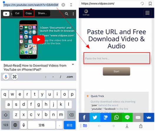 download youtube videos to documents app