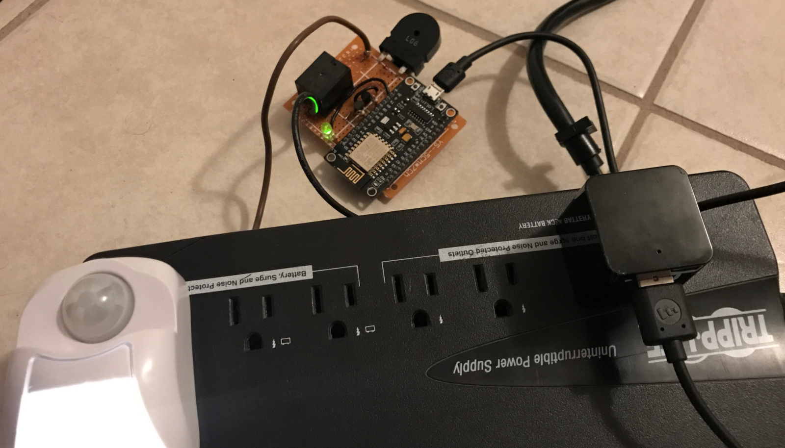 Esp8266 First Project Home Automation With Relays Switches Pwm Wiring Mainbreaker Box In Detached Garage Electrical Diy Chatroom This Could Be Used To Control For Example A Desk Lamp Connected The Ac Outlet Testing Nightlight
