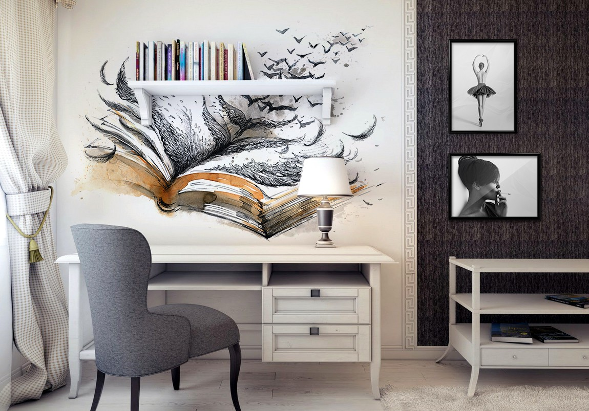 A Wall Decal From PIXERS