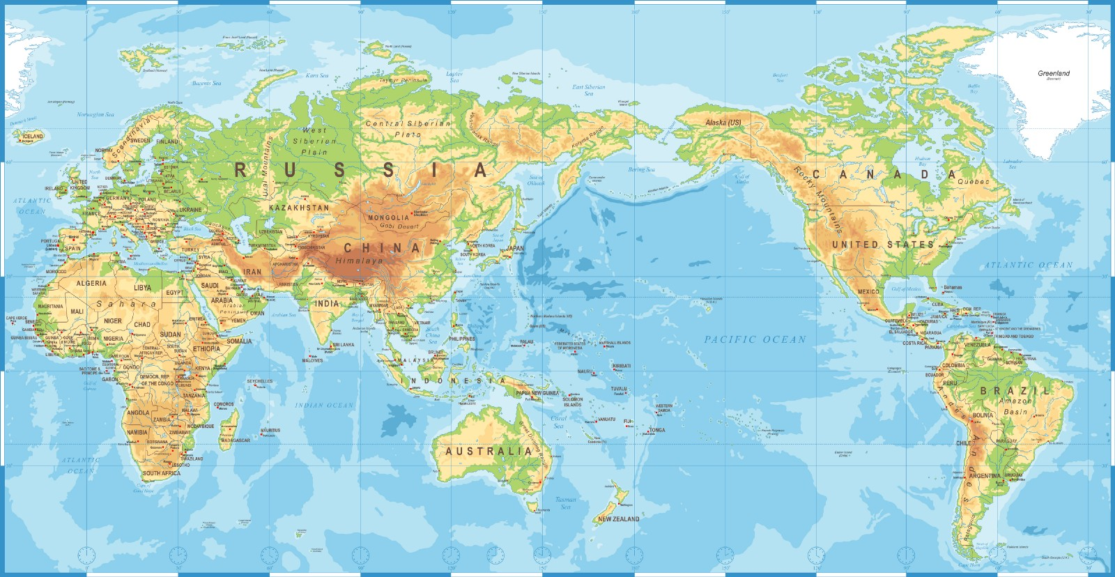 You Need To Buy A New World Map Or You Ll Miss The Silk Roads Like Me