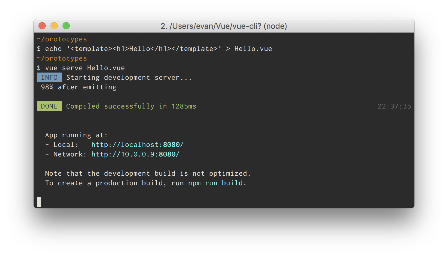 Vue Cli 3 0 Is Here The Vue Point Medium