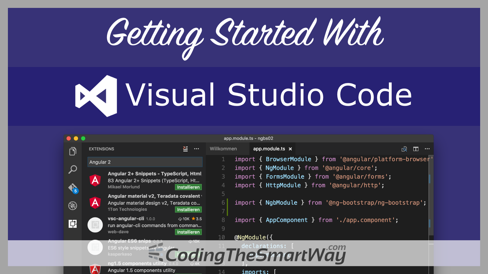 install visual studio code ubuntu using terminal