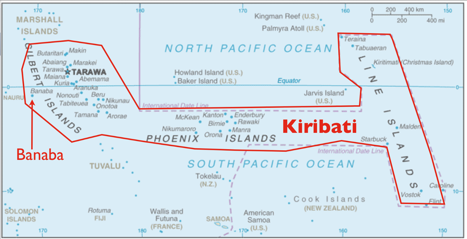 The Gilbert Islands Used To Be Owned By The Uk While The Us Used To Own The Phoneix And Line Islands At This Time The Gilbert Islands Were 12