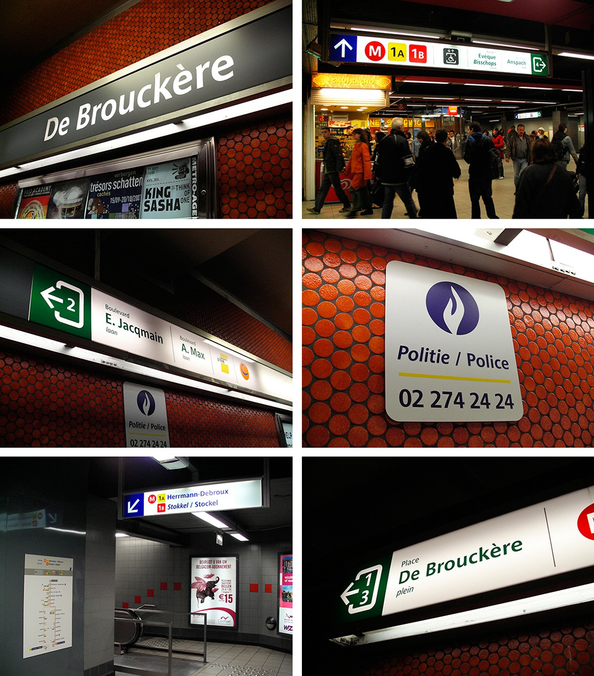 Typography on the Subway: A Trip Around the World