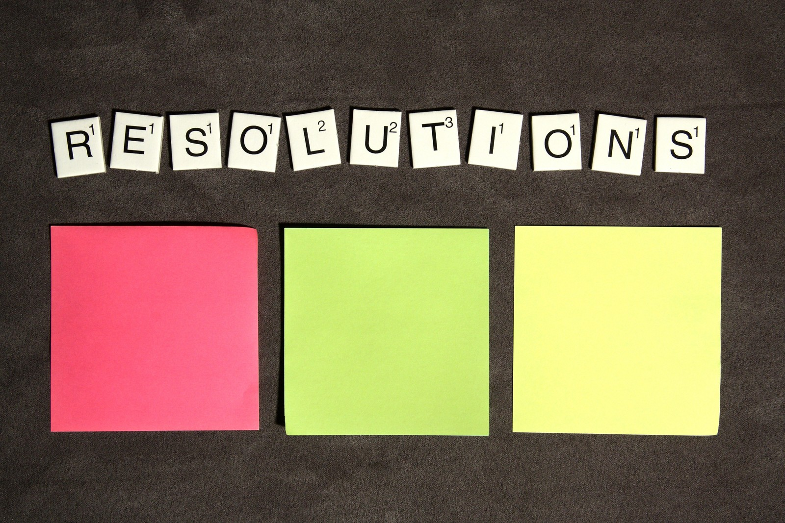 Tips for Making Resolutions Work