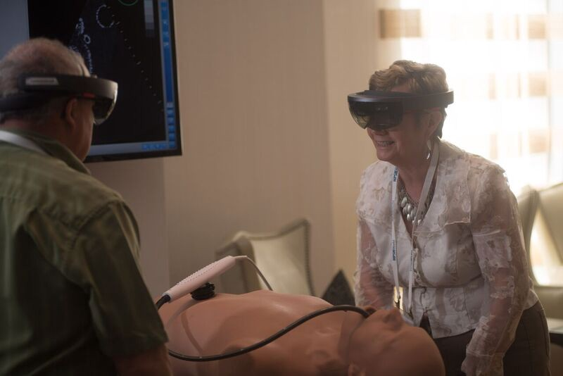 ef871928bb VimedixAR (incorporating Microsoft HoloLens and mixed reality) permits  learners to 'visualize' anatomical structures freed from the confines of a  manikin ...