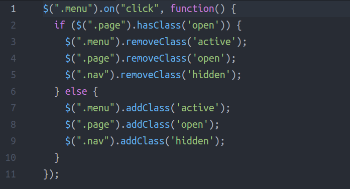 How To Manipulate Classes Without Jquery By Using Html5 S Classlist