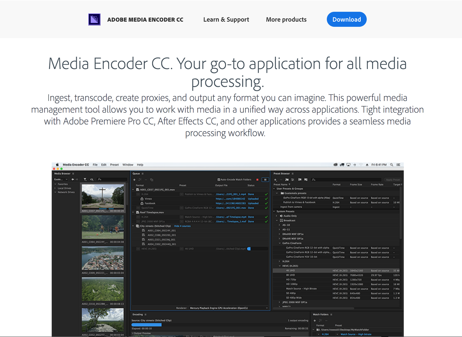 adobe media encoder cc 2015 download windows