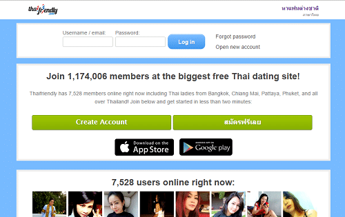 Most popular dating sites thailand
