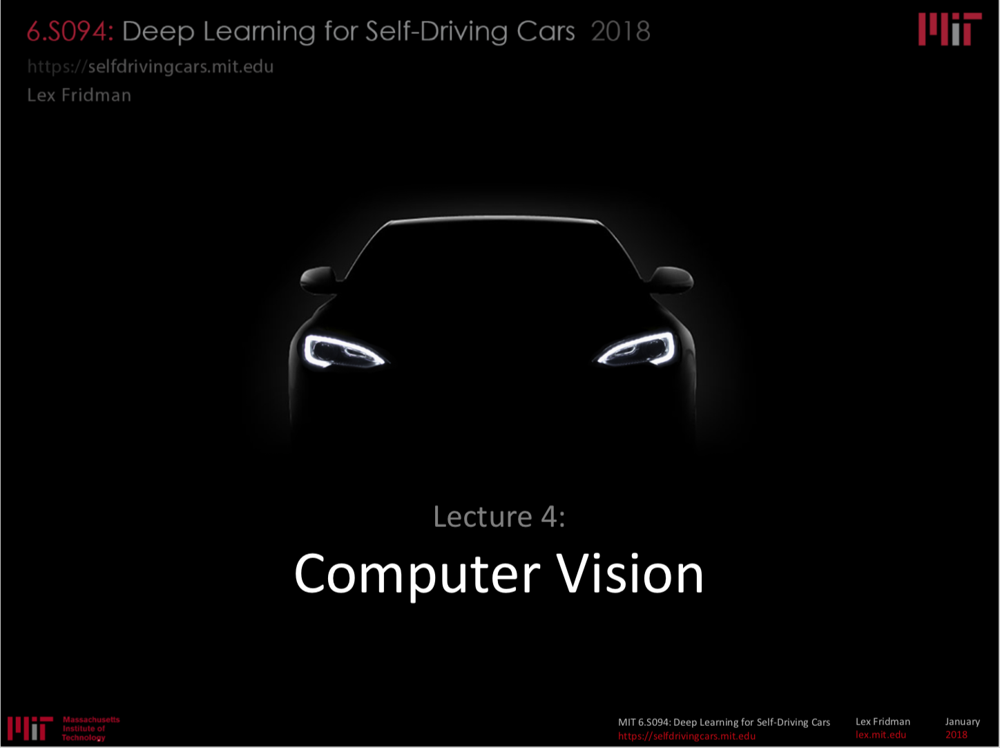 Computer Vision And Machine Learning Self Driving Car