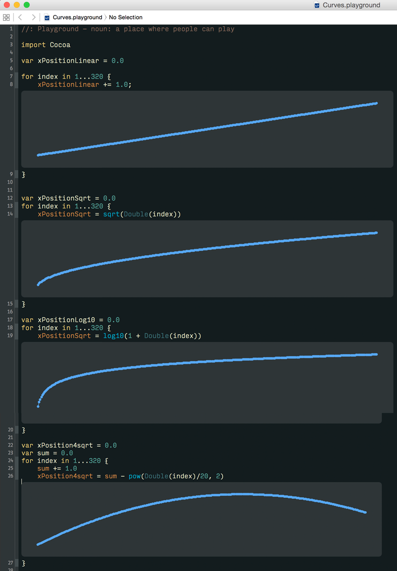 Recreating Apple's Rubber Band Effect in Swift