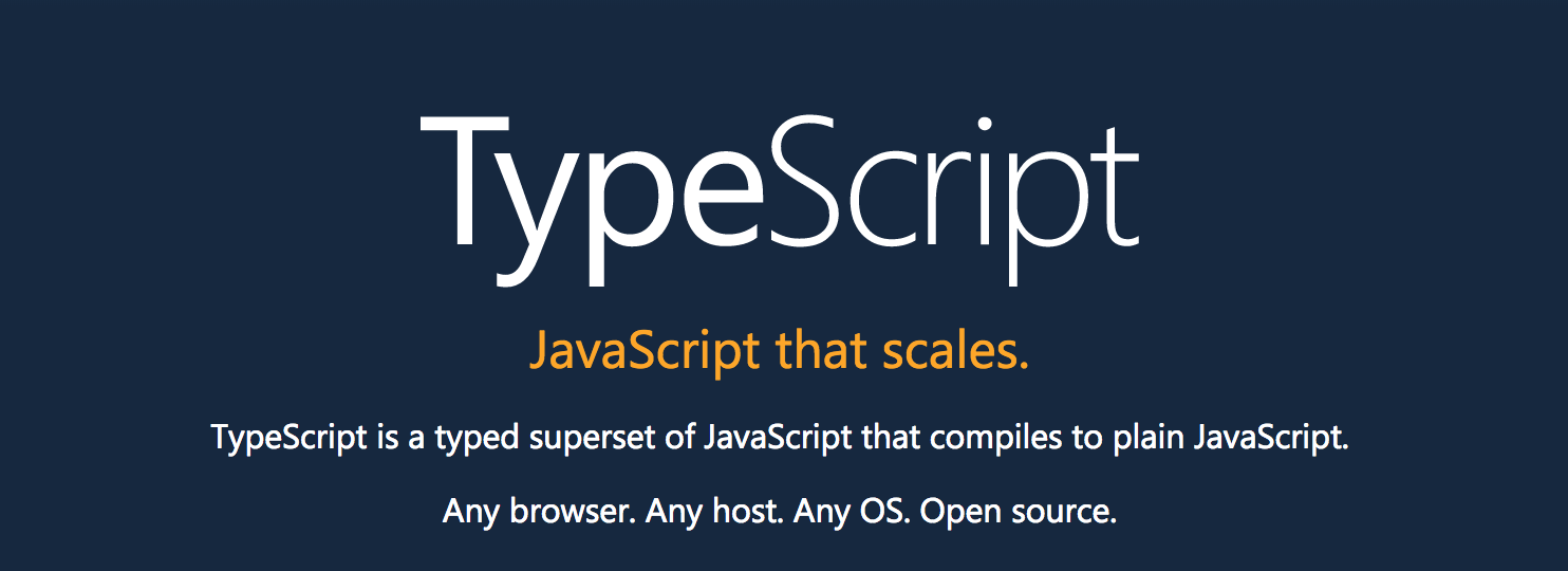 typescript � javascript with superpowers � freecodecamporg