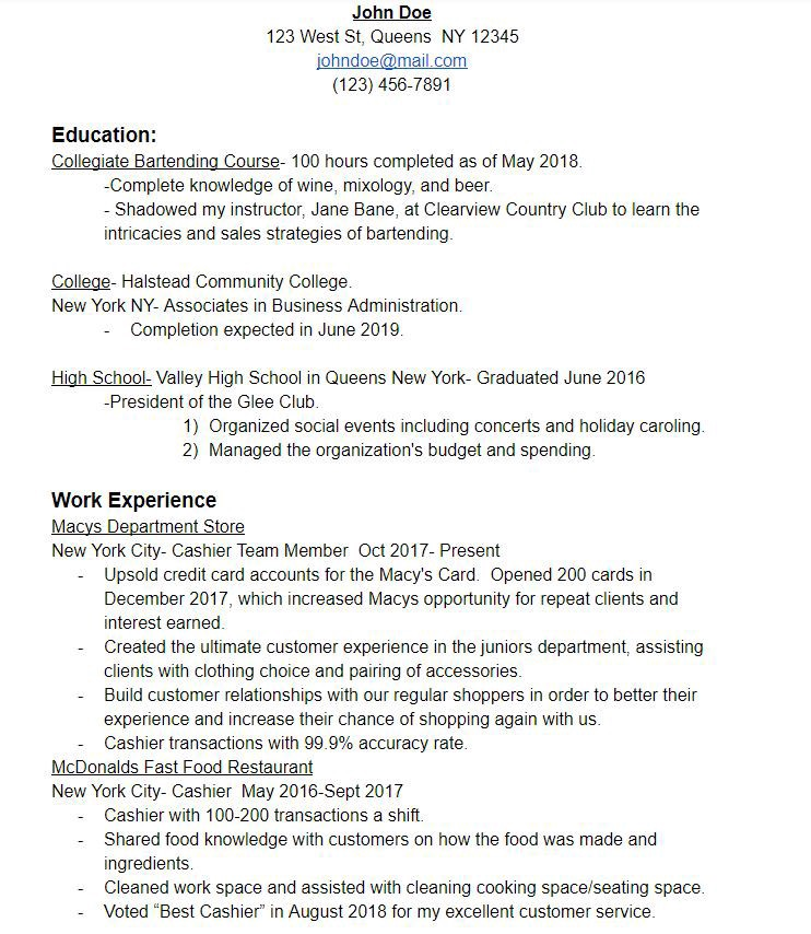 Build An Eye Catching Resume And Get More Interviews