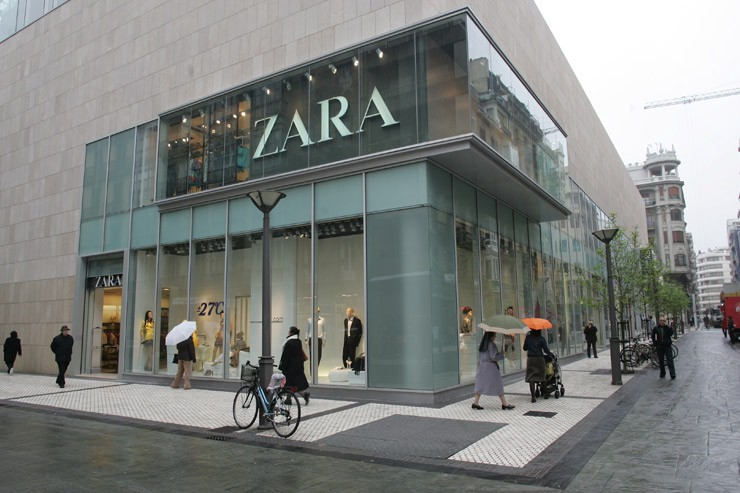 zara china entry strategy