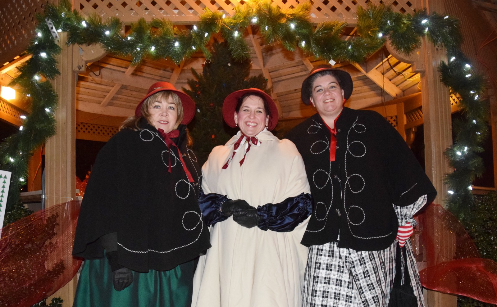 the ridgeway singers from left kathy matos denise weintraut and teresa seibel performed holiday classics at last years dickens festival - Dickens Christmas Festival