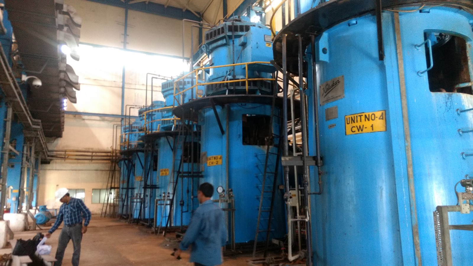 Story Of The Cw Pumps Dibyendu De Medium 500 Mw Power Plant Diagram Are Circulating Water Used In Thermal Plants There Were Five Vertical A Row