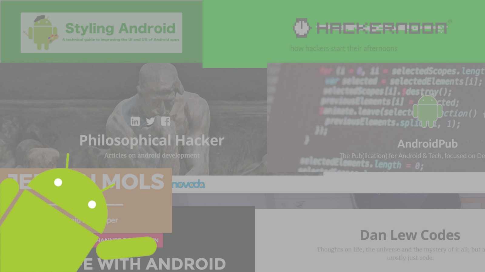 Programming for Android: a selection of sites