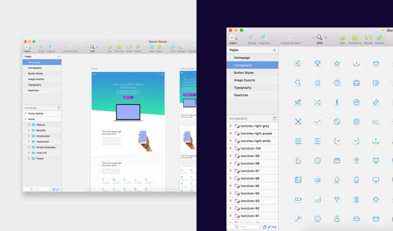 4 great applications for today's Website/UI & Brand creatives