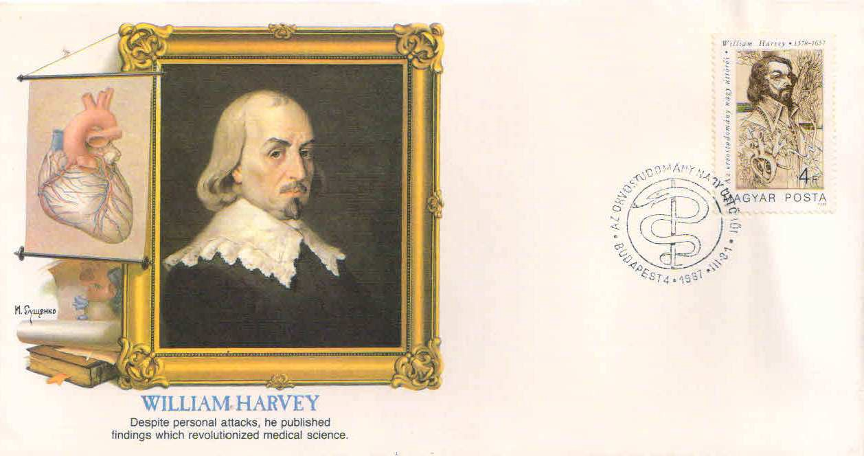William Harvey was an English physician who made seminal ...