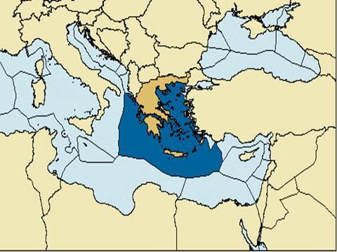 The Importance Of The Greek Exclusive Economic Zone - Us eez map