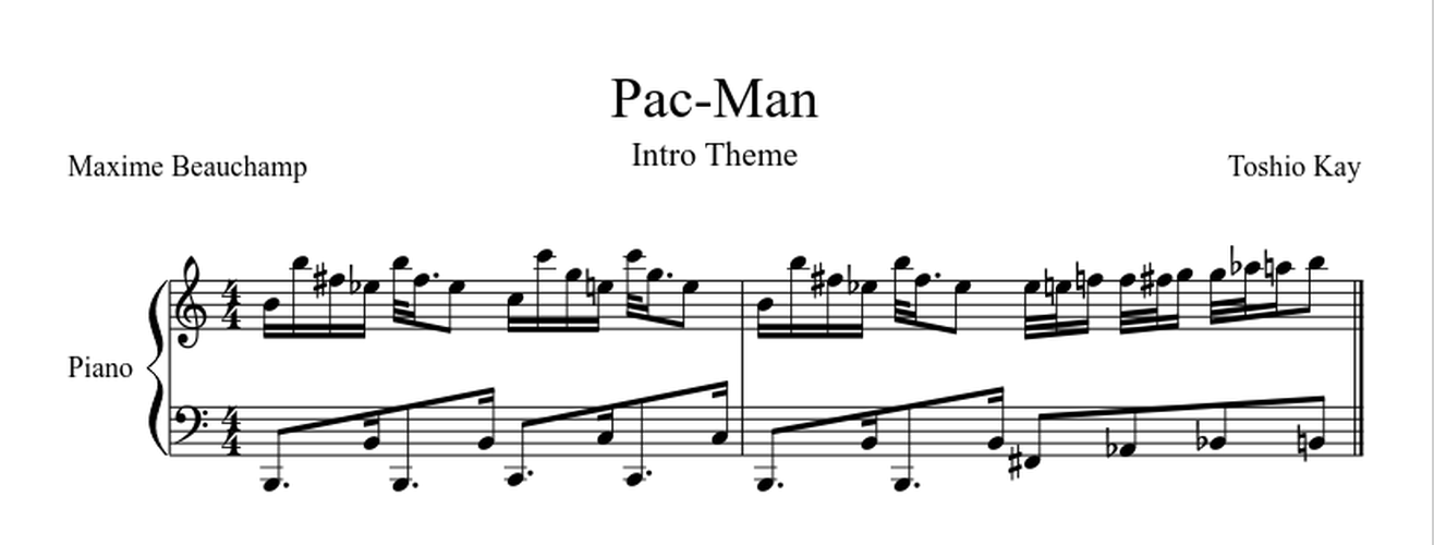 Piano skyscraper piano sheet music : The Great Works of Software – The Message – Medium