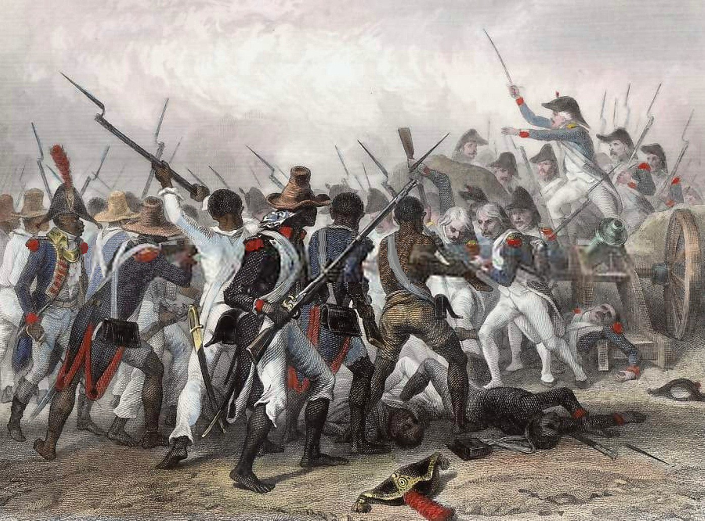 haitian revolution the slaves free non whites The revolution builds 1791-1792 24 september 1791 the national assembly in france revokes the may 15 decree, which had granted limited rights to free blacks and mulattoes, and names three commissioners to restore order in saint-domingue.