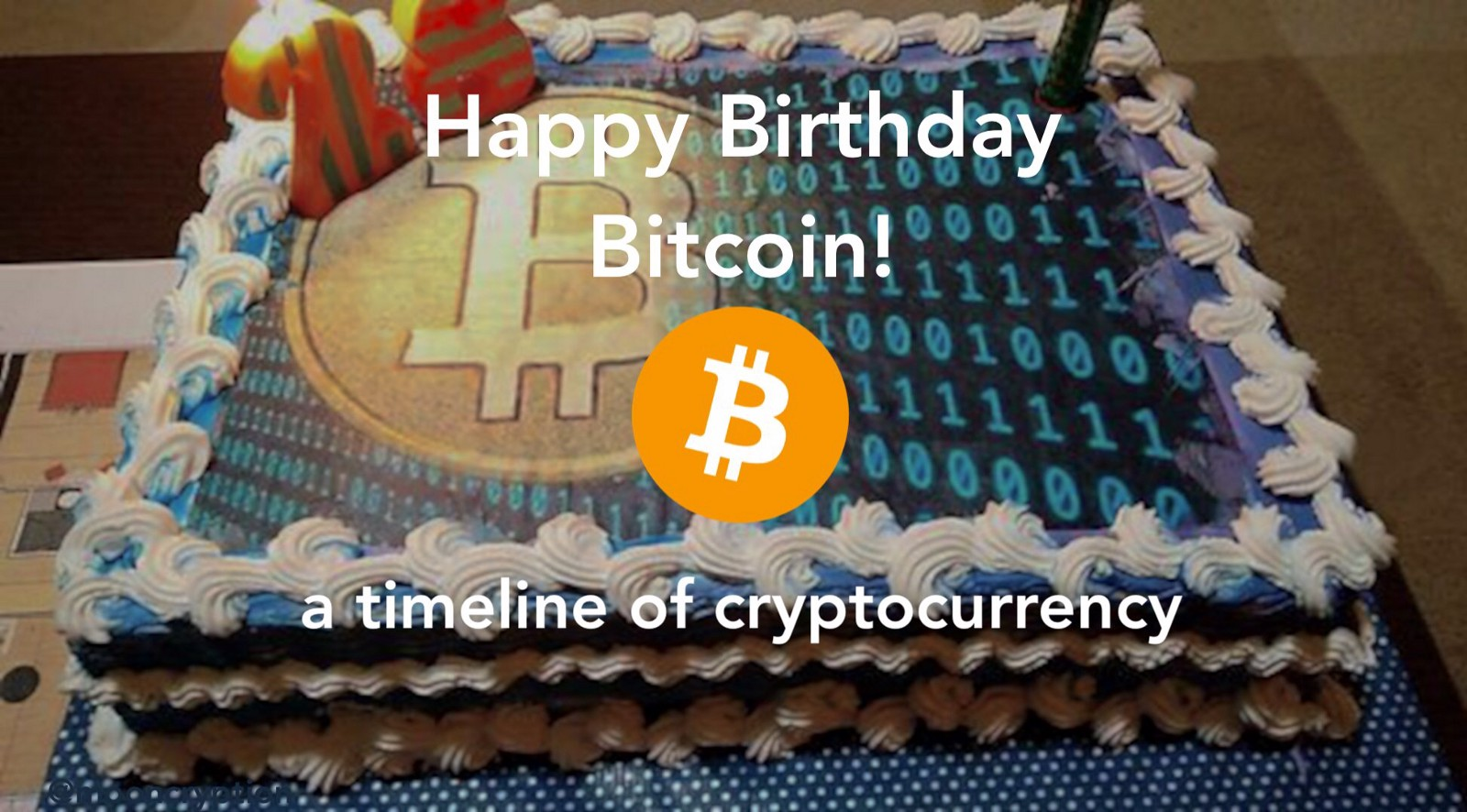 Happy Birthday Bitcoin 10 Facts 1 Per Year To Celebrate
