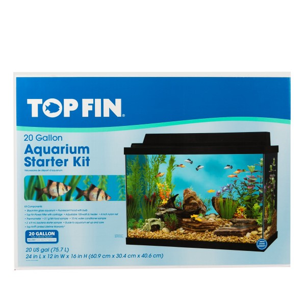 Petsmart special offer save 25 all top fin led starter kit for 20 gallon fish tank kit