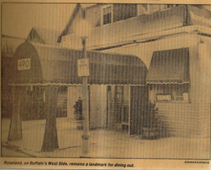 Imagine Of This Westside Buffalo Clic Restaurant I Didn T Know It At The Time But Was Living In An Era That Straight Out Movies