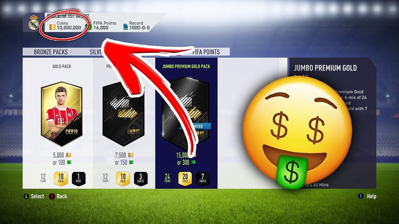 Fifa 19 Free 999999 Coins Points Generator Xbox One Playstation