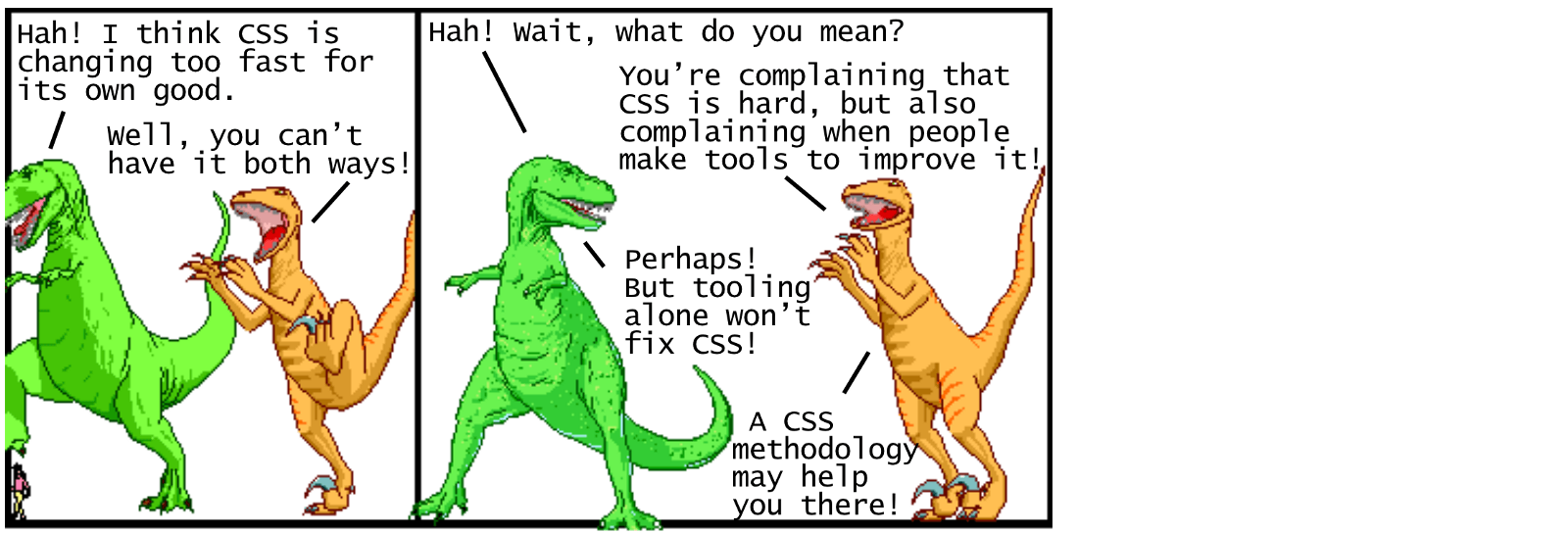 Modern css explained for dinosaurs actualize medium in any case its clear that learning how to use a css postprocessor is worth it if youre interested in pushing the edge of whats possible with css fandeluxe Image collections