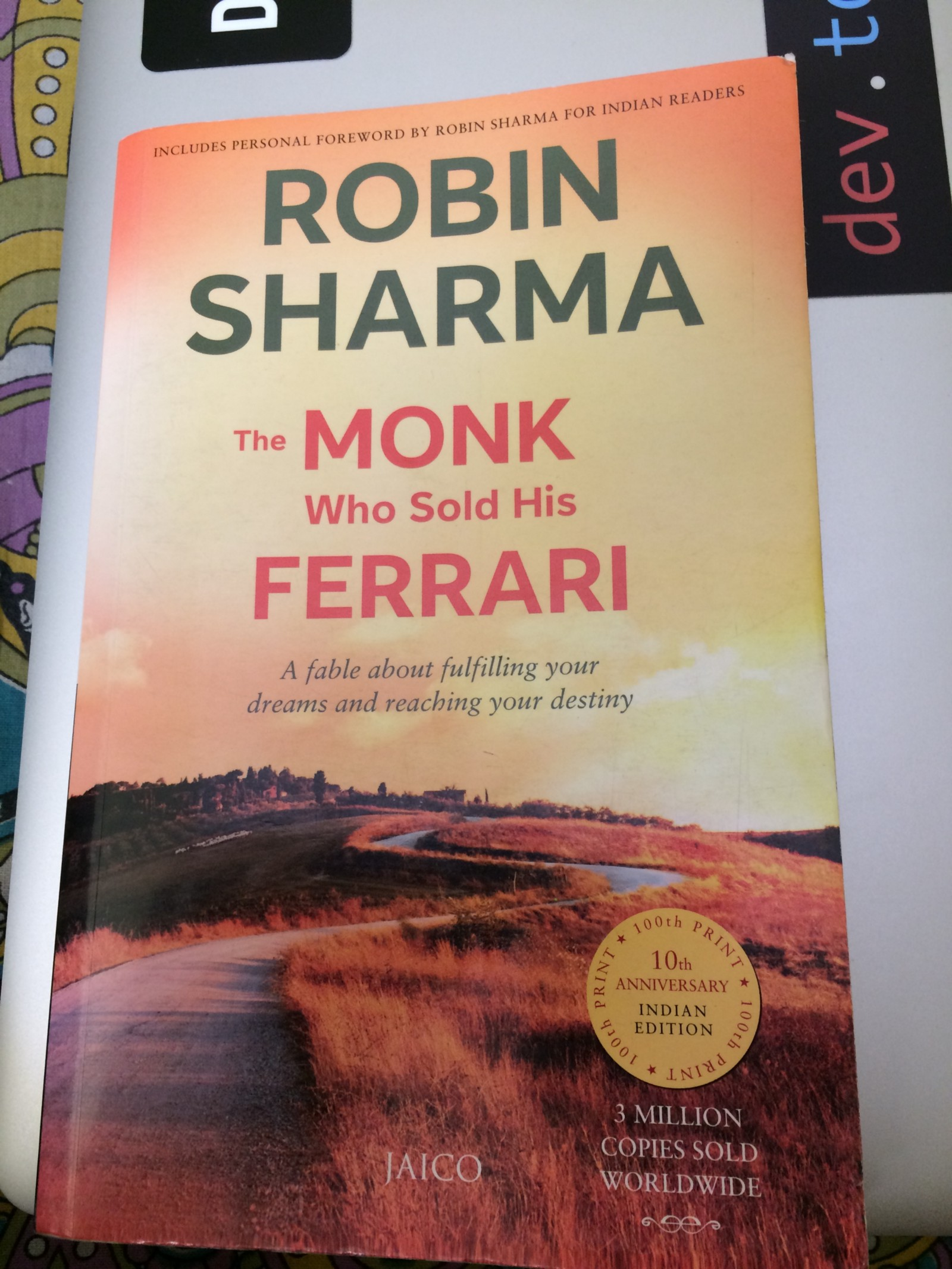 The Monk Who Sold His Ferrari Pdf Free