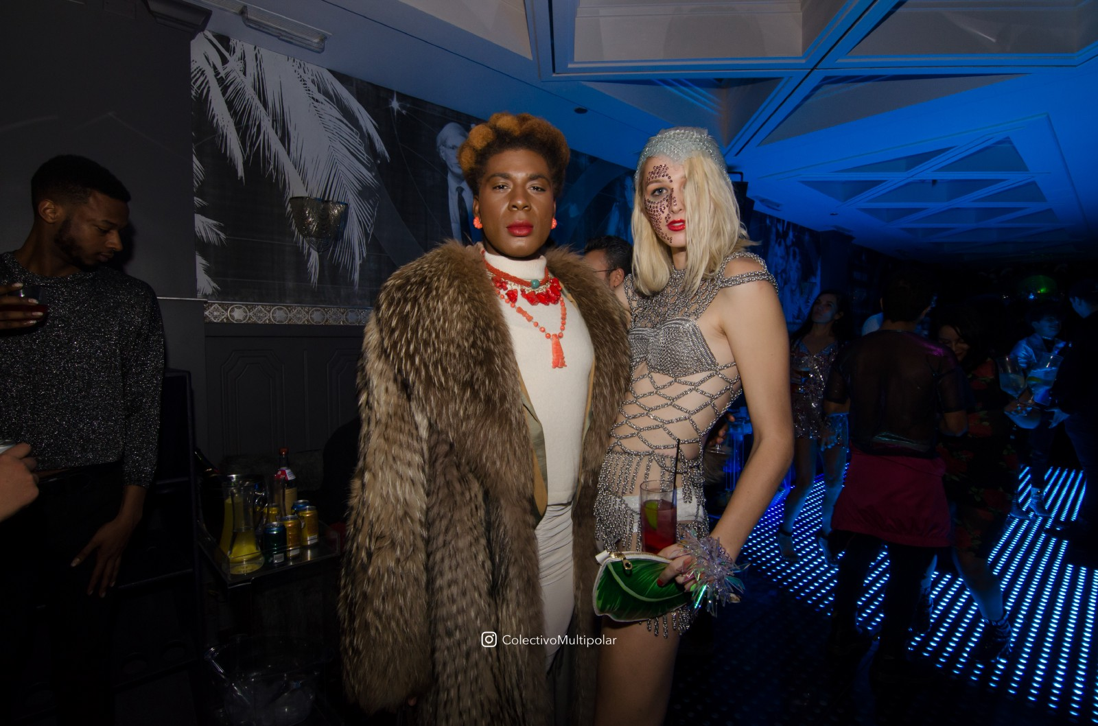 Founder of Futurehood Record Label, Mister Wallace (Far Left) Duchess of  Chicago, Darling Shear (L) and Trans identified fashion model Sloan [styled  by ...