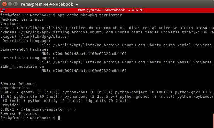 install apt-get command linux
